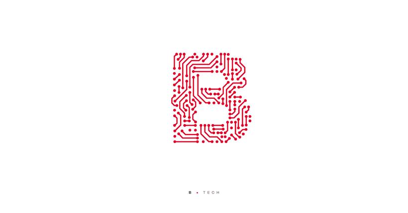 Typographic B·day Illustrations 4