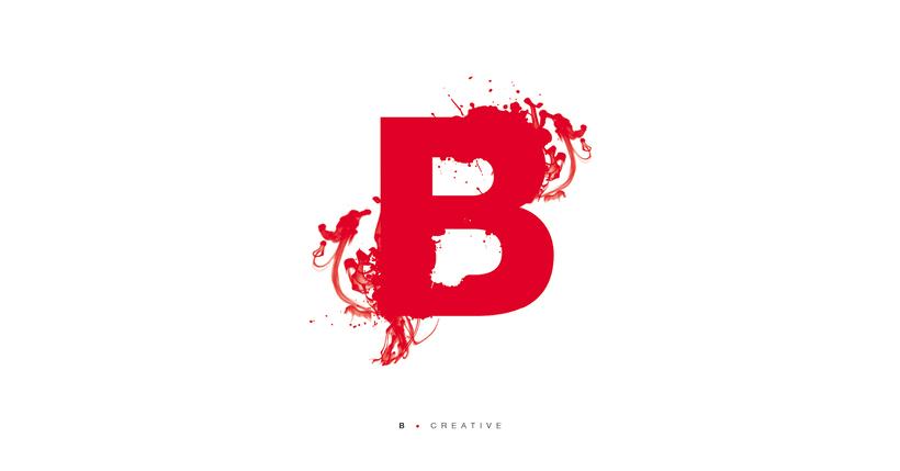 Typographic B·day Illustrations 6