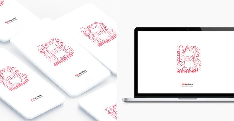Typographic B·day Illustrations 8