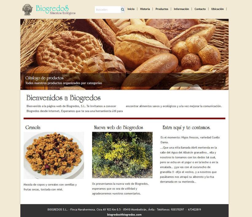 Web para Biogredos 0
