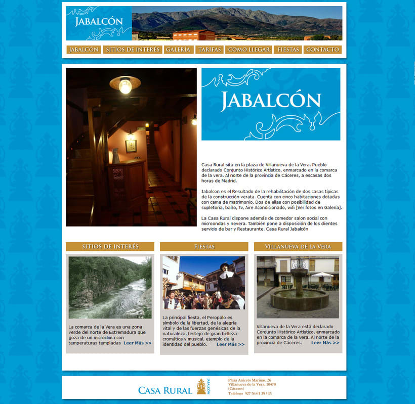 Web Casa Rural Jabalcón -1