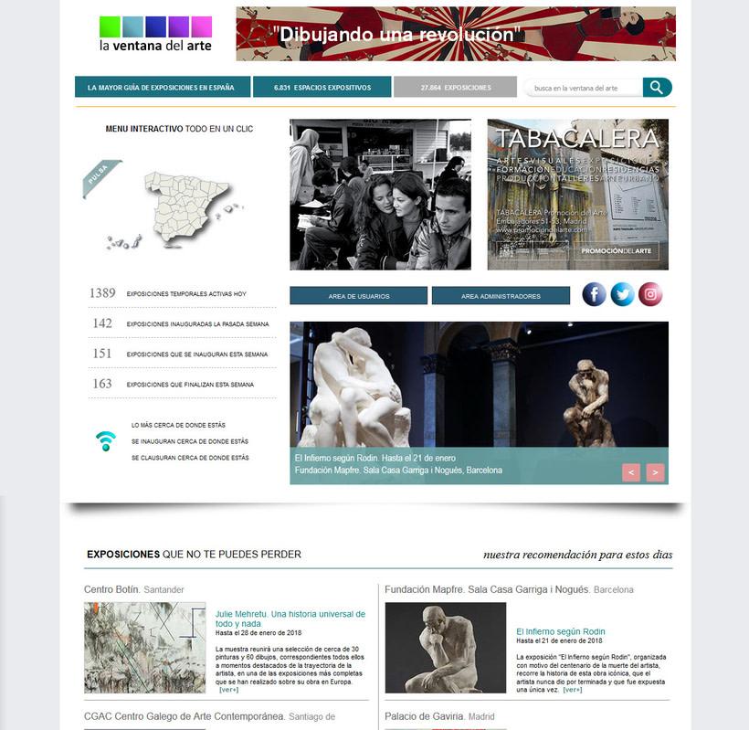 web La Ventana del Arte -1