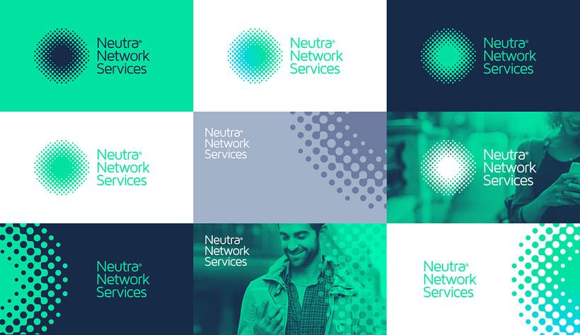 Neutra Network Services | Diseño de Identidad Visual Corporativa. 3