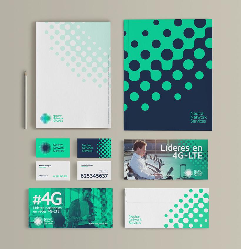 Neutra Network Services | Diseño de Identidad Visual Corporativa. 6