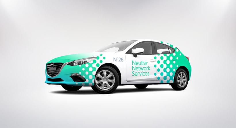 Neutra Network Services | Diseño de Identidad Visual Corporativa. 9