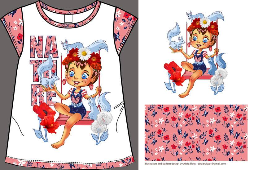 Diseño textil infantil -1