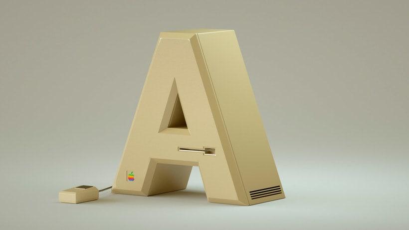 '36 days' de nostalgia tecnológica y tipográfica 1