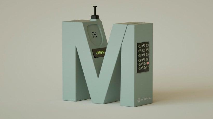 '36 days' de nostalgia tecnológica y tipográfica 10