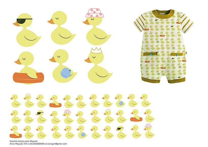 """Diseño textil """"New Born"""" collection 1"""