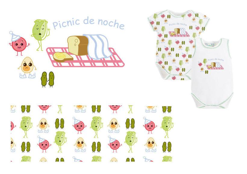 """Diseño textil """"New Born"""" collection 2"""
