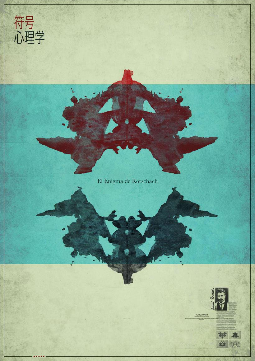 El Enigma Rosrcharch. Poster -1