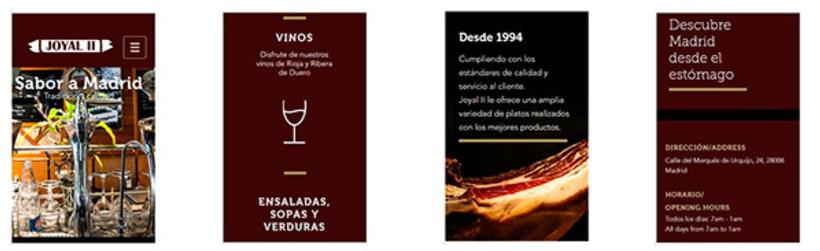 Restaurant Web Design -1