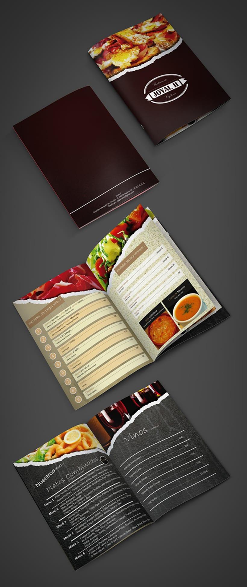 Restaurant Menu -1