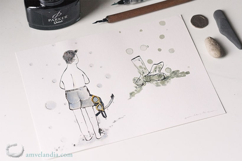 Inktober 2017 (textos de Susana Torralbo) -1