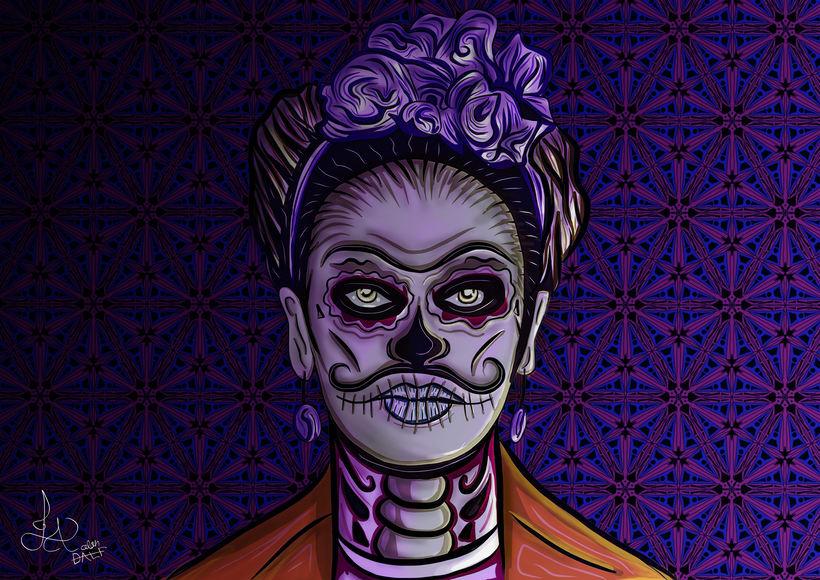 Kahlo Catrina 2