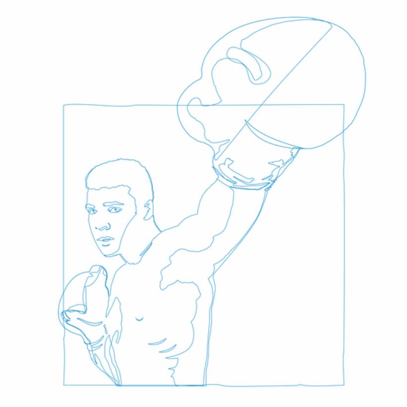 Ilustración Muhammad Ali  1