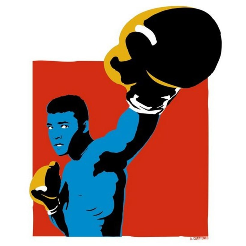 Ilustración Muhammad Ali  2