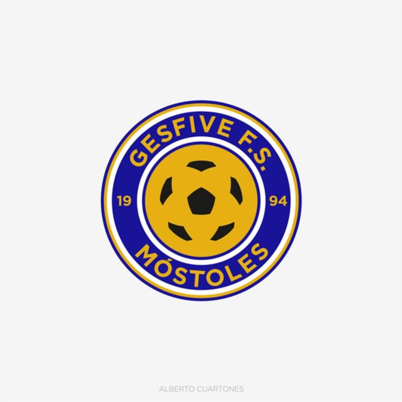 Rediseño escudo Gesfive Fútbol Sala 0
