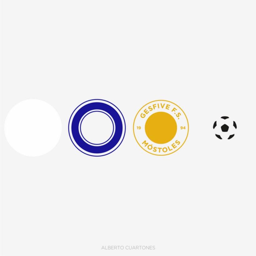 Rediseño escudo Gesfive Fútbol Sala 5