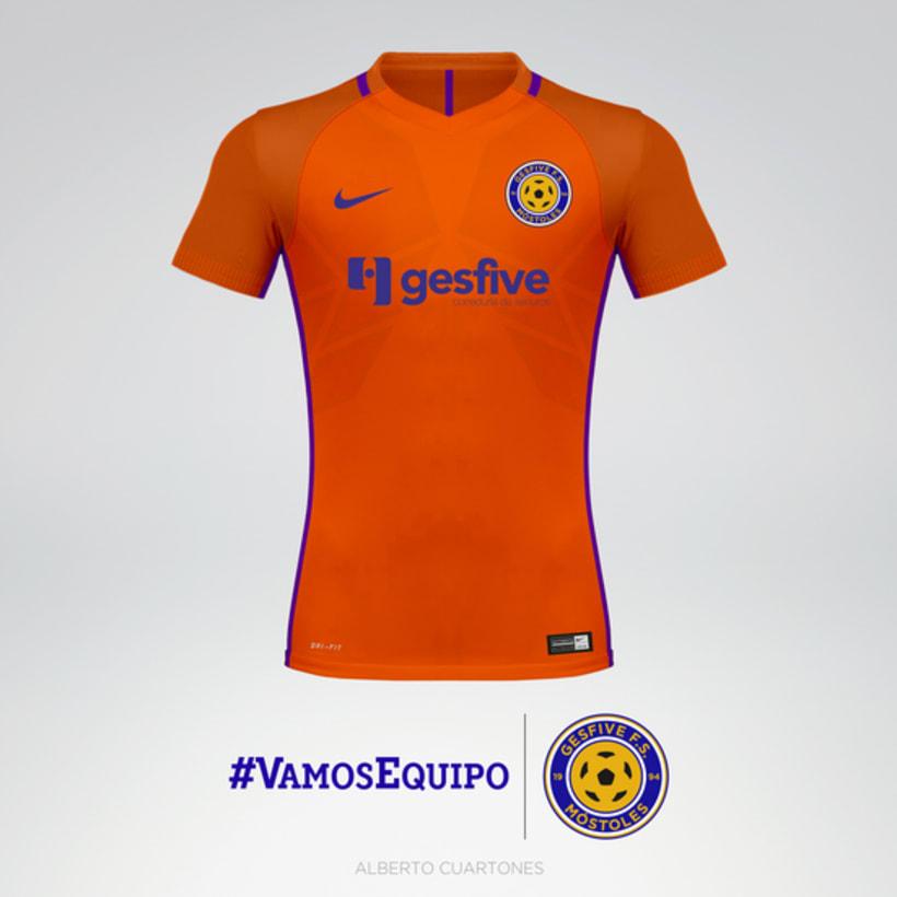 Rediseño escudo Gesfive Fútbol Sala 6