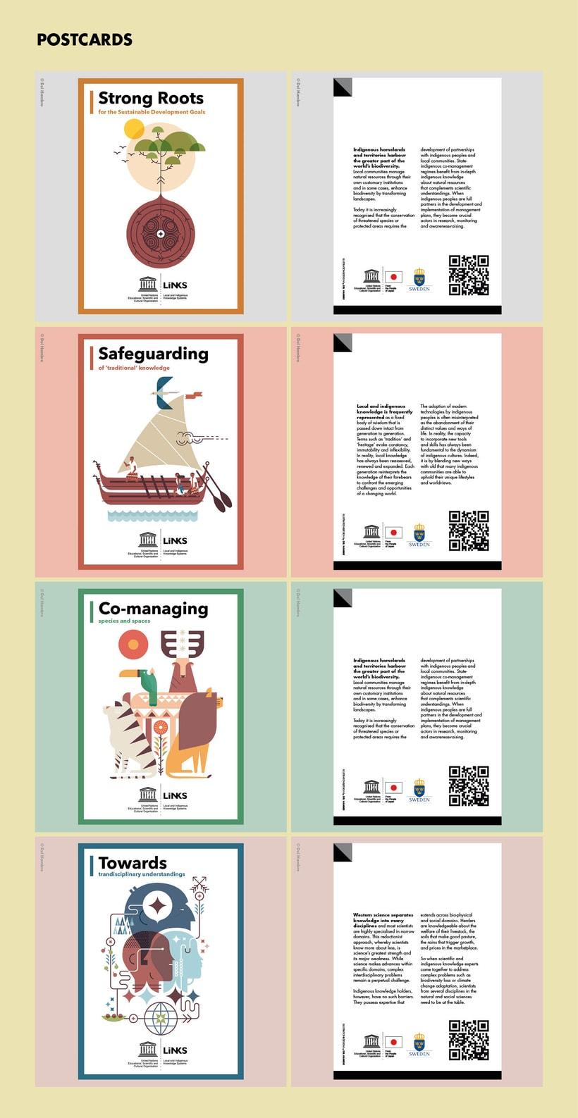 UNESCO 18 posters ilustrados EXPOSICIÓN ITINERANTE 13