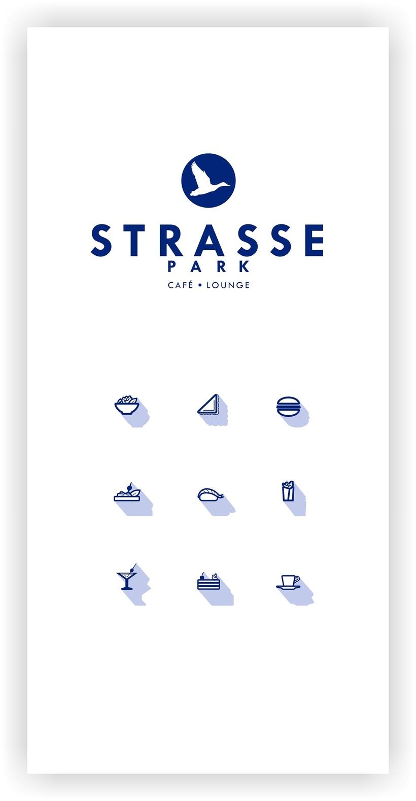 Identidad corporativa STRASSE PARK 6