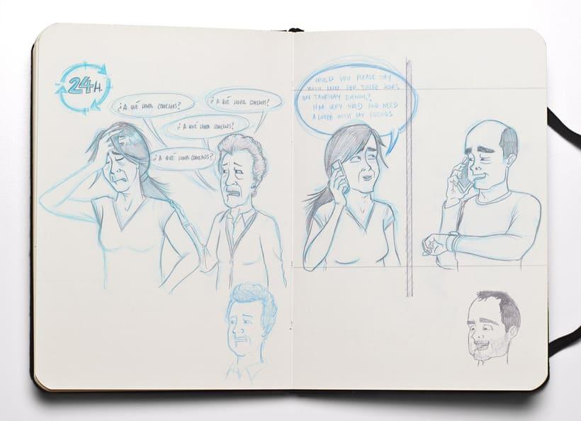 Ilustraciones para Proyecto de psicología de Universidad Rey Juan Carlos 5
