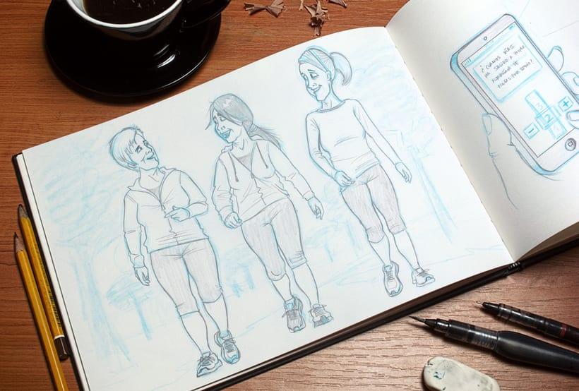 Ilustraciones para Proyecto de psicología de Universidad Rey Juan Carlos 6