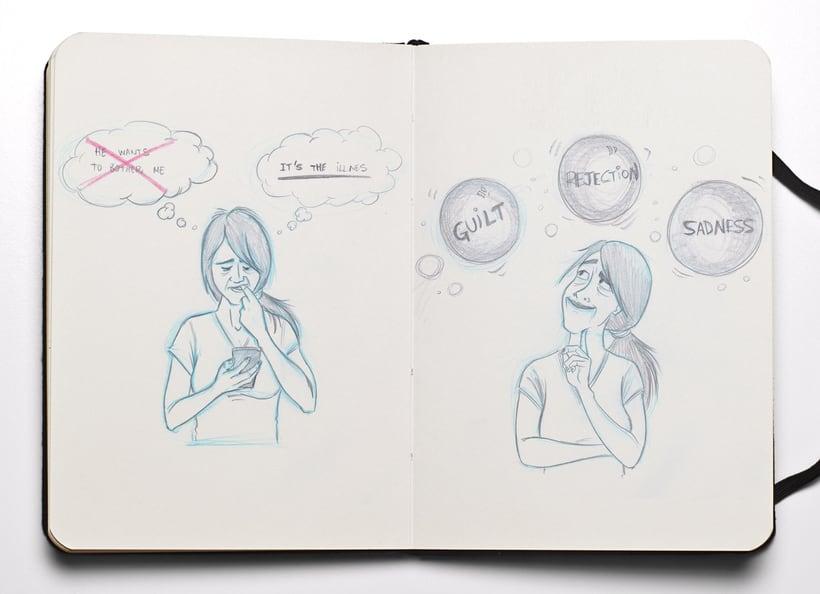 Ilustraciones para Proyecto de psicología de Universidad Rey Juan Carlos 8