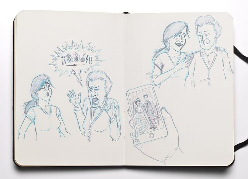 Ilustraciones para Proyecto de psicología de Universidad Rey Juan Carlos 9