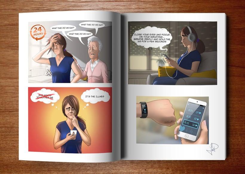 Ilustraciones para Proyecto de psicología de Universidad Rey Juan Carlos 11