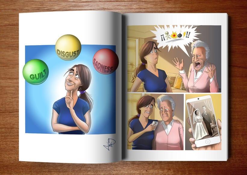 Ilustraciones para Proyecto de psicología de Universidad Rey Juan Carlos 13