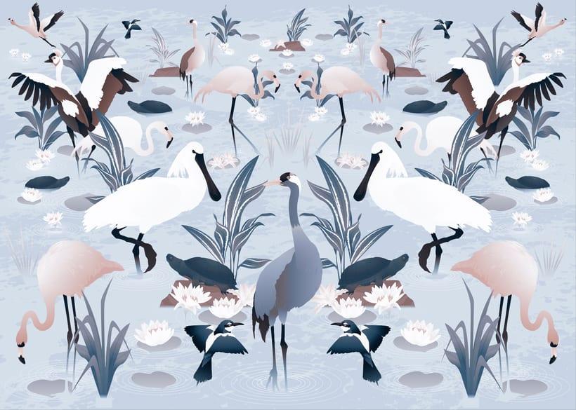 Wildlife patterns 2