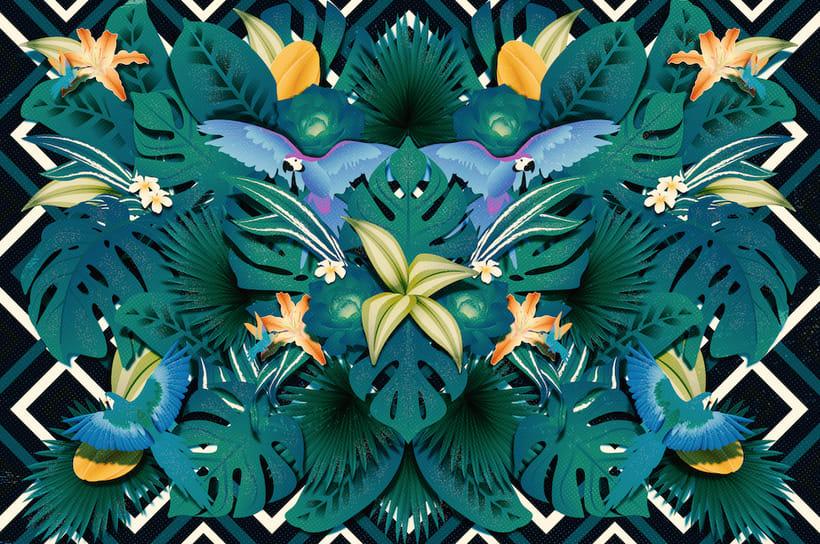 Wildlife patterns 3