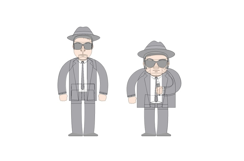 The Blues Brothers loop animation 1
