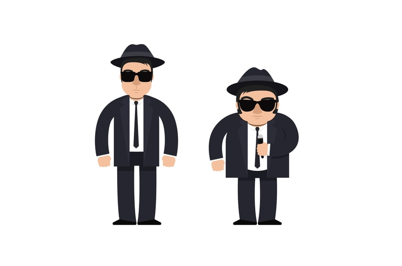 The Blues Brothers loop animation 2