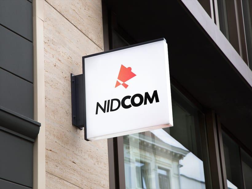 NIDCOM · Logo Design 5
