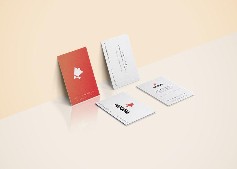 NIDCOM · Logo Design 6