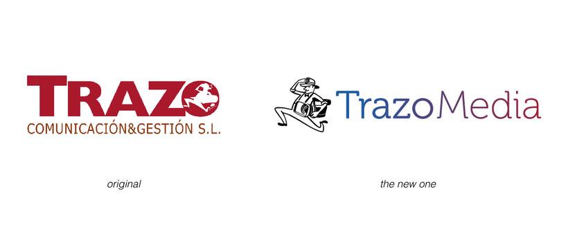 TRAZO MEDIA · Resytling Logo 1