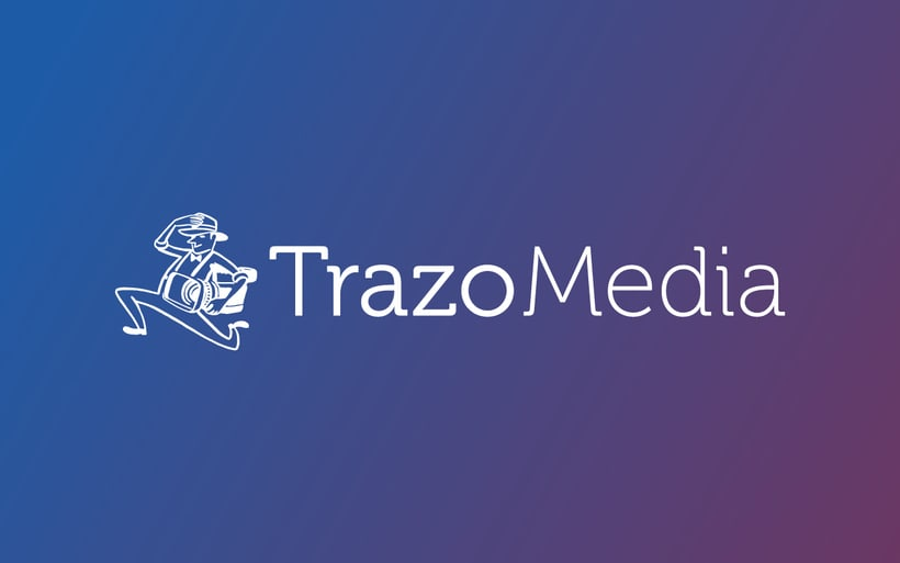 TRAZO MEDIA · Resytling Logo 4