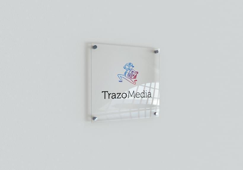 TRAZO MEDIA · Resytling Logo 5