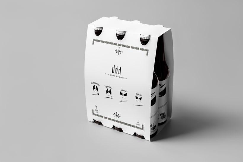 Mi Proyecto del curso: Branding y Packaging para una Cerveza Artesanal 9