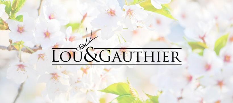 LOU&GAUTHIER · Visual Identity 1