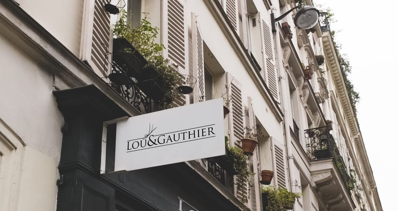 LOU&GAUTHIER · Visual Identity 5