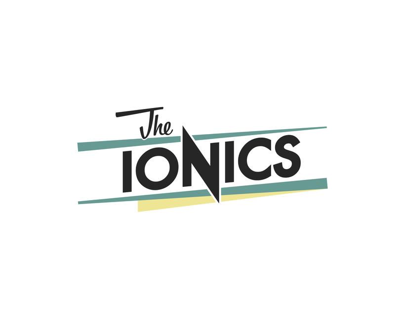 THE IONICS · Logo Design 1