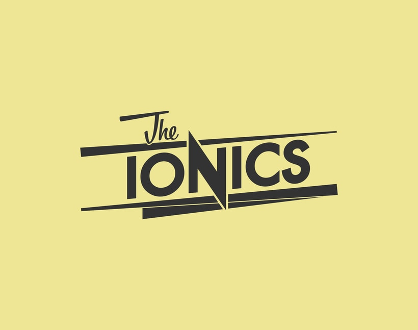 THE IONICS · Logo Design 2