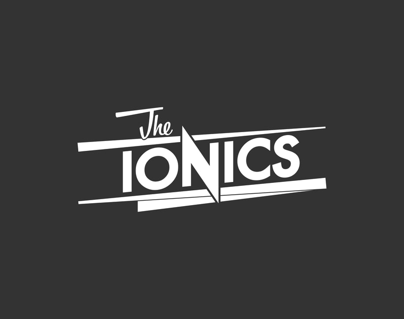THE IONICS · Logo Design 3