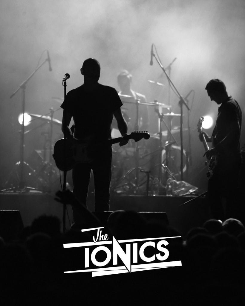 THE IONICS · Logo Design 4