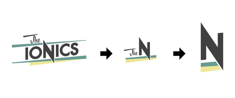 THE IONICS · Logo Design 6