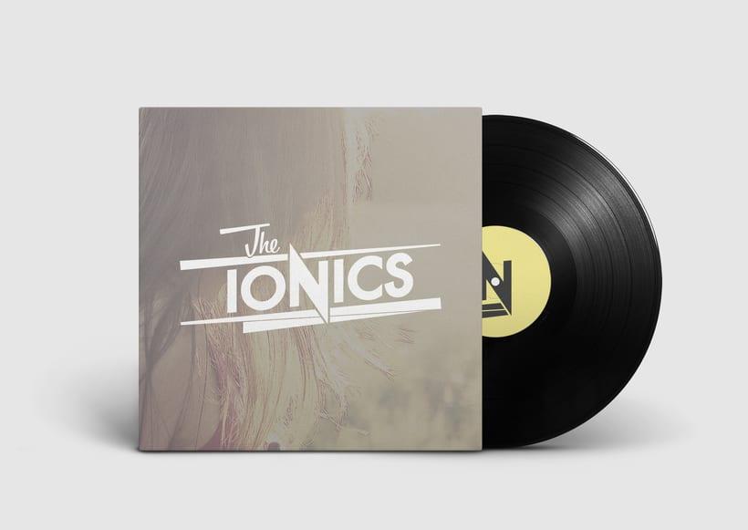 THE IONICS · Logo Design 10